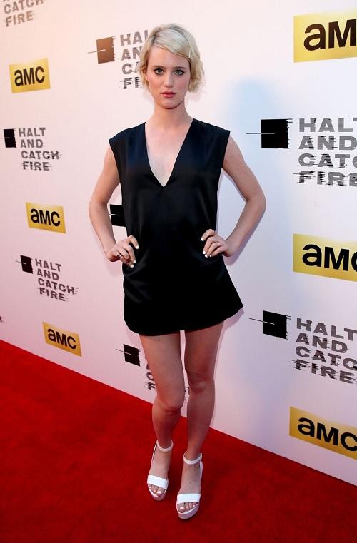 Mackenzie Davis Feet
